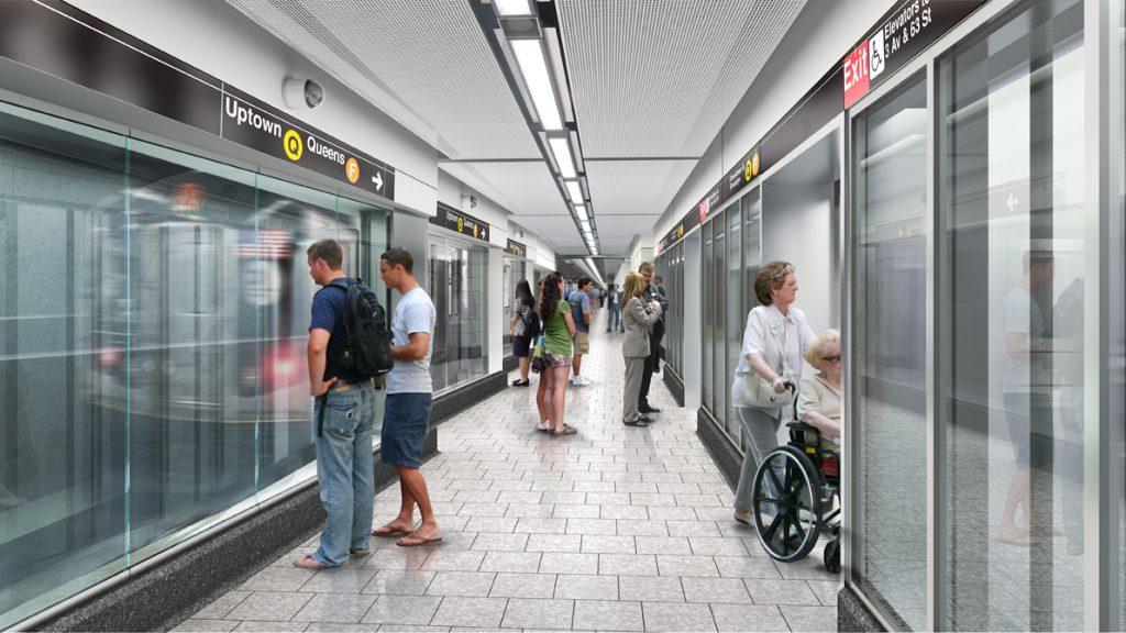 Metro de la Segunda Avenida de Nueva York