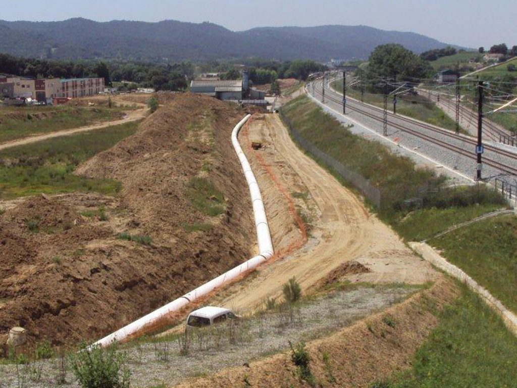 Sant Celoni Water Supply Pipeline