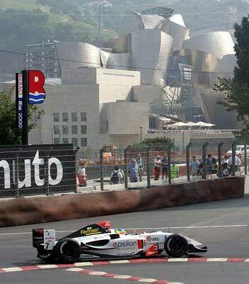 Bilbao's Urban Racetrack