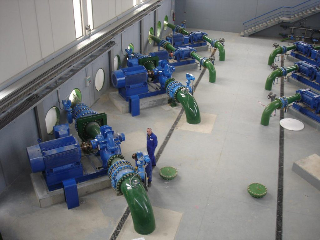 Conversão de Irrigação Terra Alta