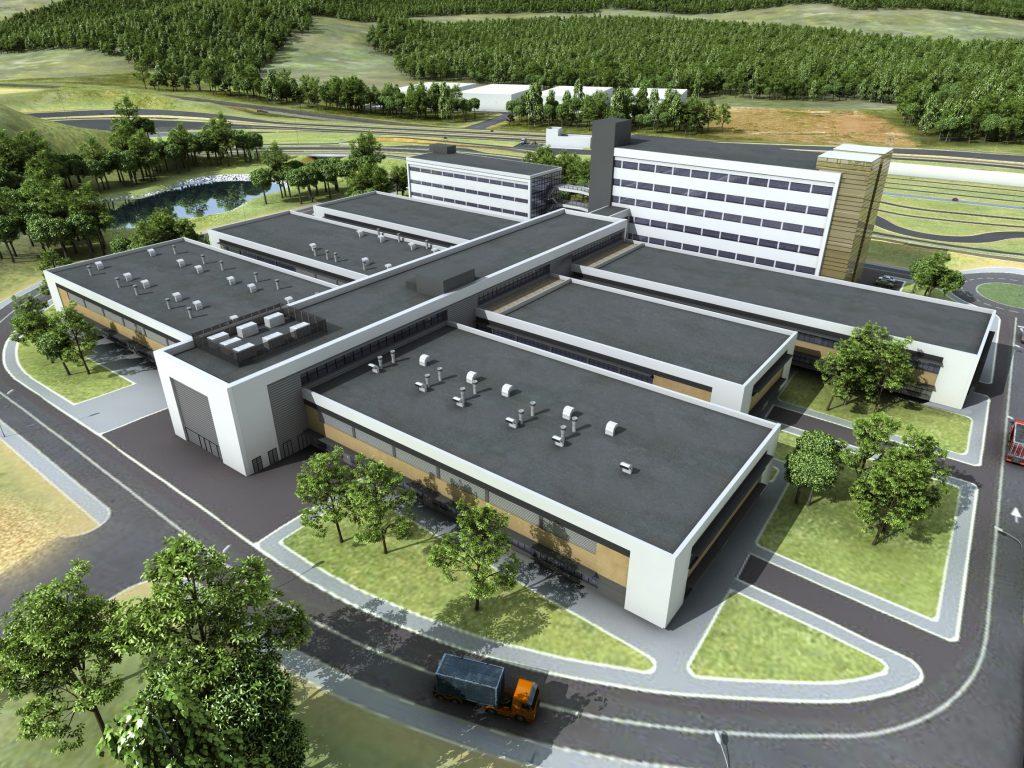 Centro de R&D para motocicletas