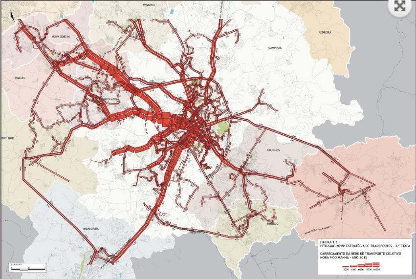 Corredor da Região Metropolitana de Campinas