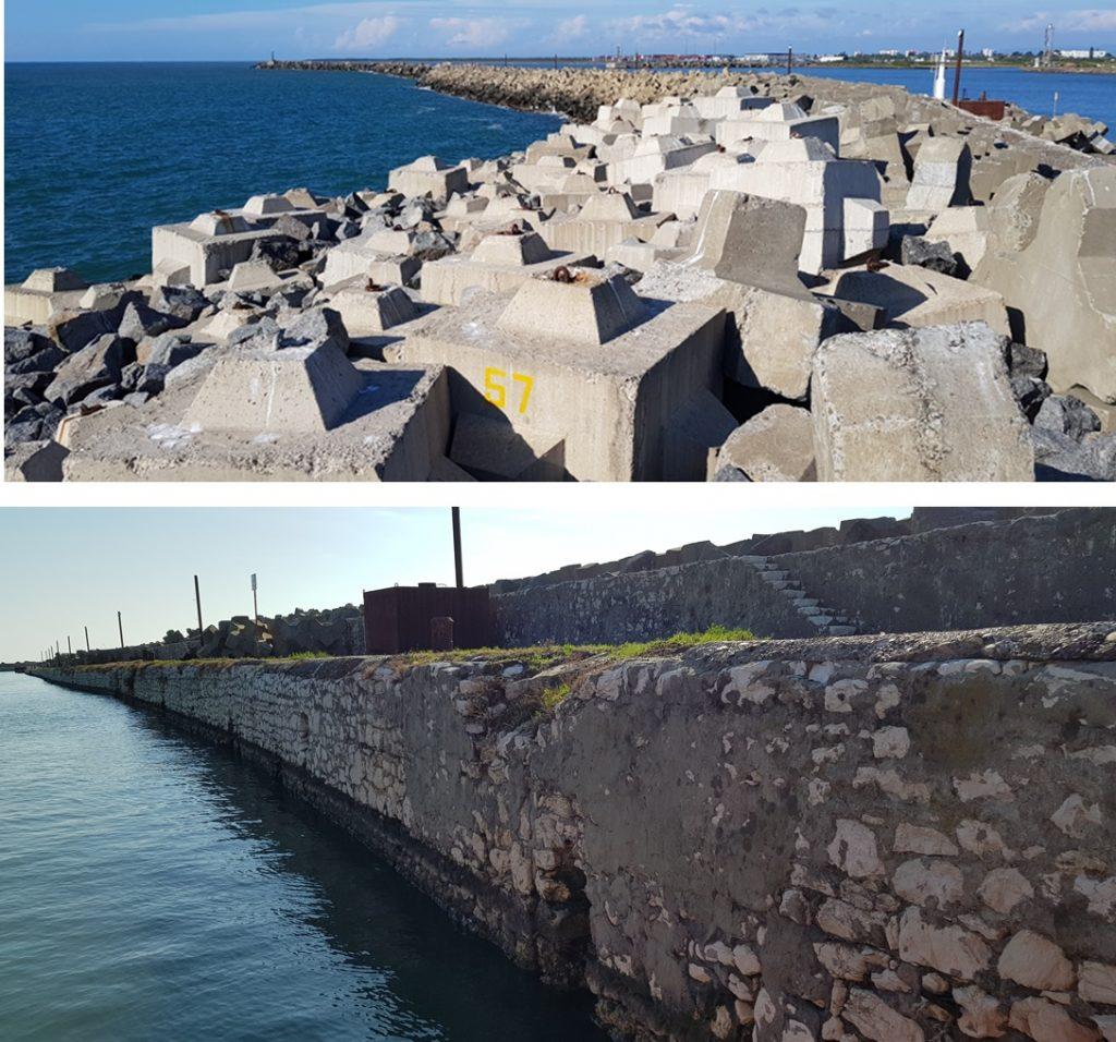 Inspección del Rompeolas del Puerto de Poti