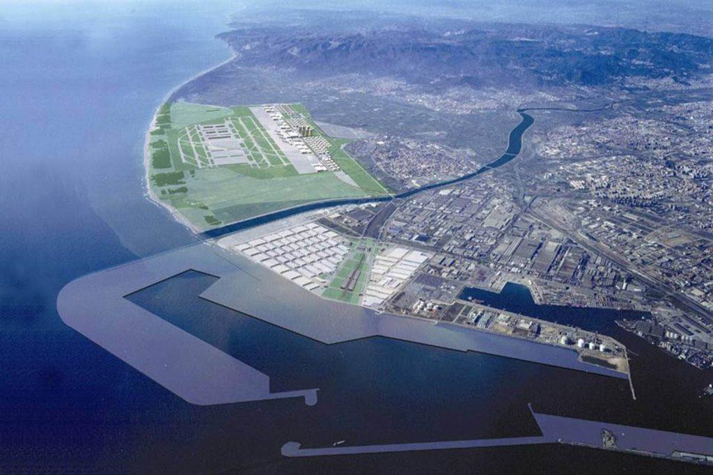 Dique Sur Puerto de Barcelona