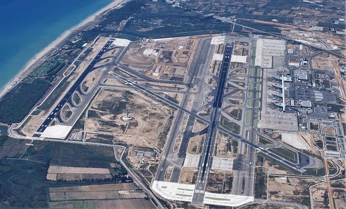 Ampliación campo de vuelo Aeropuerto Barcelona