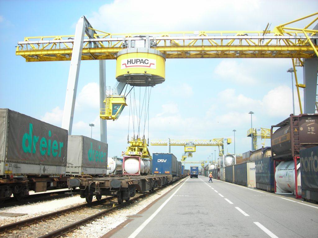 Intermodal Terminal Barcelona Port