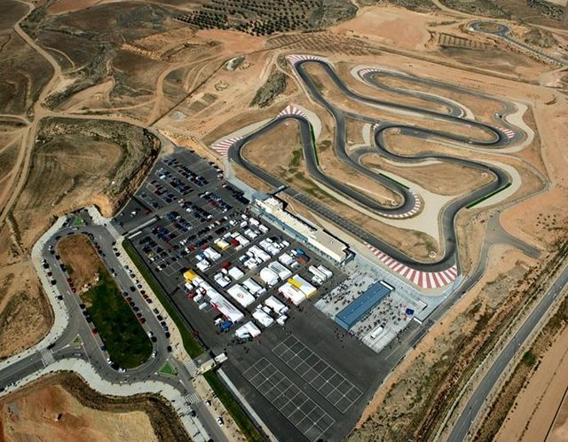 Karting Circuits in Motorland Aragon