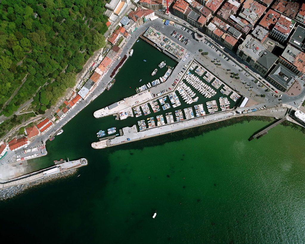 Reparo da represa de San Sebastián