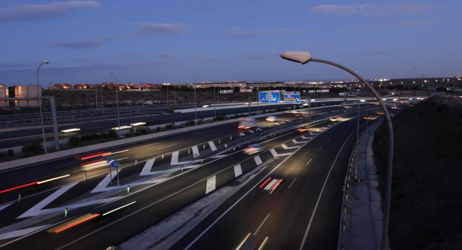 M-40 Ring Road in Madrid