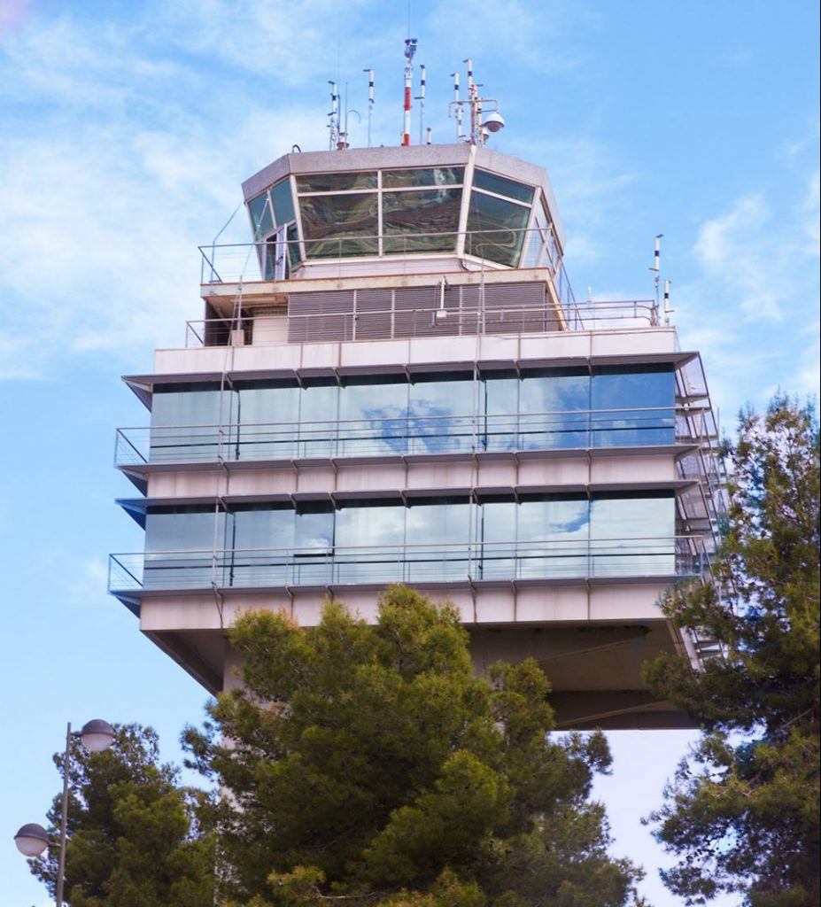 Valencia Airport Control Tower